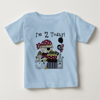 2nd  Birthday Pirate Tshirts and Gifts
