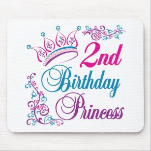 2nd Birthday Princess Mouse Pad