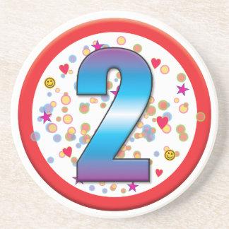 2nd Birthday v2 Drink Coasters
