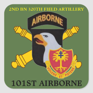 2ND BN 320TH FIELD ARTILLERY 101ST ABN STICKERS