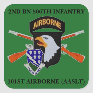 2ND BN 506TH INFANTRY 101ST AIRBORNE STICKERS