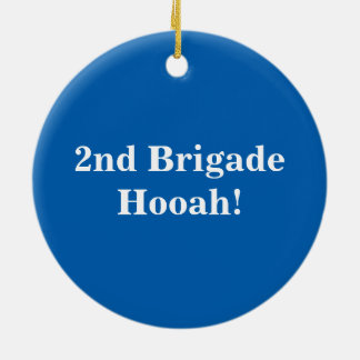 2nd Brigade Seal Ornament Hooah!