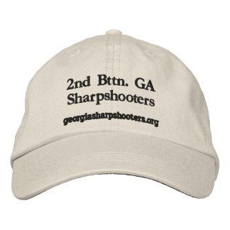 2nd Bttn. GA Sharpshooters, georgi... - Customized Embroidered Hat