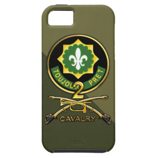 2nd Cavalry Regiment iPhone 5 Cover
