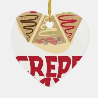 2nd February - Crepe Day - Appreciation Day Ceramic Ornament