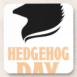 2nd February - Hedgehog Day Coaster