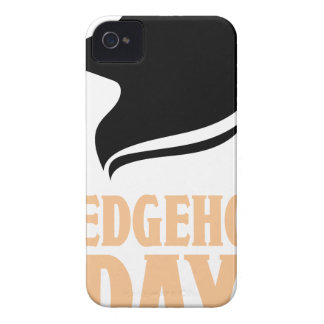 2nd February - Hedgehog Day iPhone 4 Case