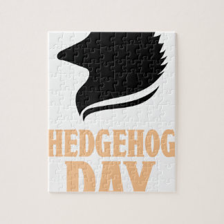 2nd February - Hedgehog Day Jigsaw Puzzle