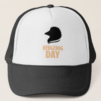 2nd February - Hedgehog Day Trucker Hat