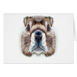 2nd February - Marmot Day - Appreciation Day Card