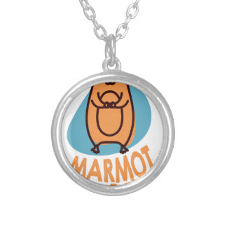 2nd February - Marmot Day - Appreciation Day Silver Plated Necklace