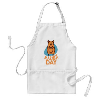 2nd February - Marmot Day - Appreciation Day Standard Apron