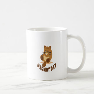 2nd February - Marmot Day Coffee Mug