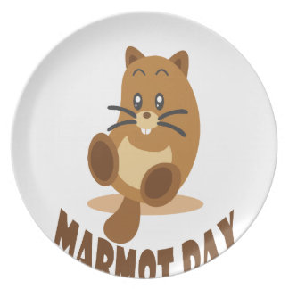 2nd February - Marmot Day Plate