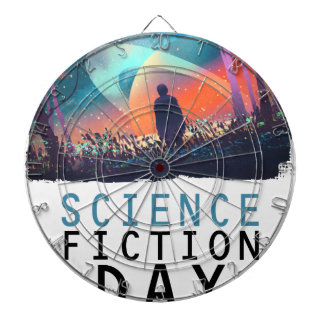 2nd February - Science Fiction Day Dartboard