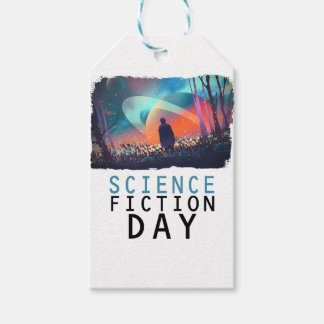 2nd February - Science Fiction Day Gift Tags