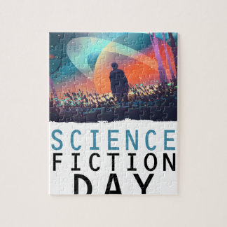 2nd February - Science Fiction Day Jigsaw Puzzle