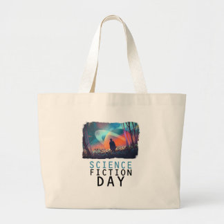2nd February - Science Fiction Day Large Tote Bag