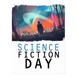 2nd February - Science Fiction Day Postcard
