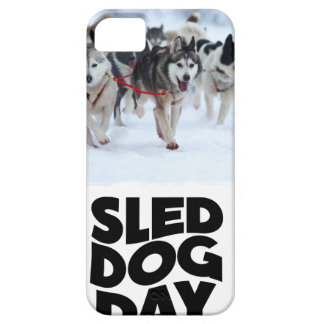 2nd February - Sled Dog Day iPhone 5 Cover