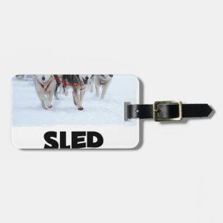 2nd February - Sled Dog Day Luggage Tag