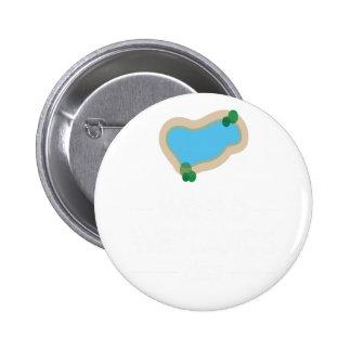 2nd February - World Wetlands Day 6 Cm Round Badge