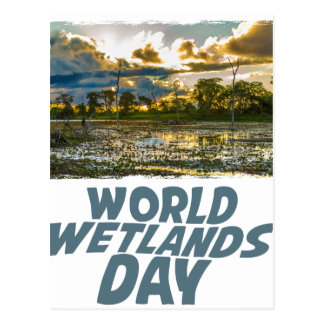 2nd February - World Wetlands Day Postcard