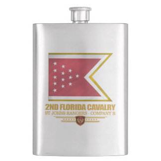 2nd Florida Cavalry Hip Flask