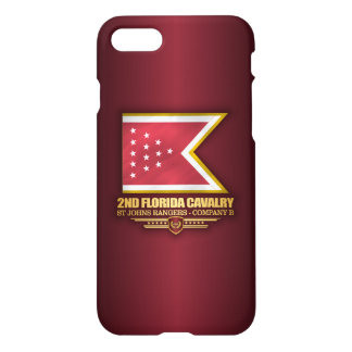 2nd Florida Cavalry iPhone 7 Case