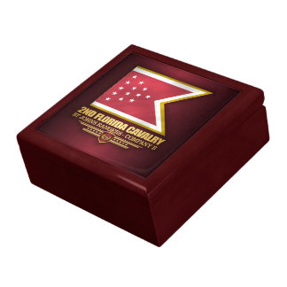 2nd Florida Cavalry Large Square Gift Box