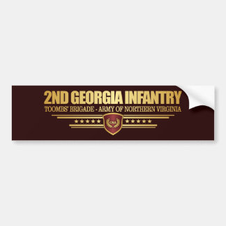 2nd Georgia Infantry Bumper Sticker