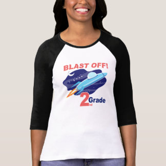 2nd Grade Outer Space Tee Shirts