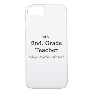 2nd. Grade Teacher iPhone 7 Case