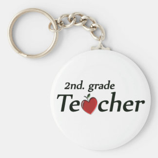 2nd. Grade Teacher Key Ring
