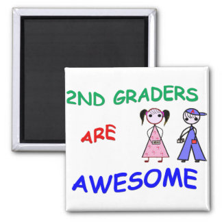 2ND GRADERS ARE AWESOME Magnet