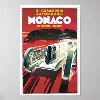 2nd Grand Prix de Monaco Print