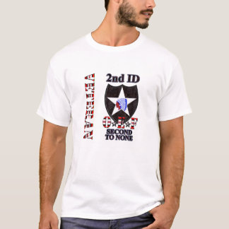 2nd Infantry Division OEF Veteran T-Shirt