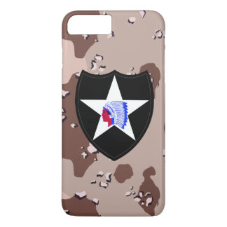 "2nd Infantry Division ""Second to None"" Desert Camo iPhone 7 Plus Case"