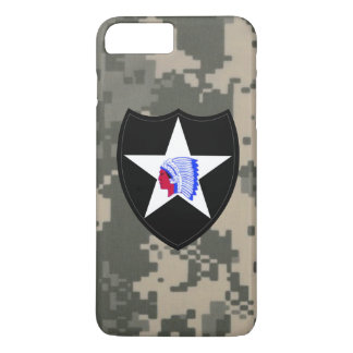 "2nd Infantry Division""Second to None"" Digital Camo iPhone 7 Plus Case"
