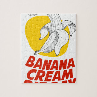 2nd March - Banana Cream Pie Day Jigsaw Puzzle
