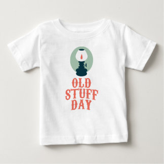 2nd March - Old Stuff Day Baby T-Shirt