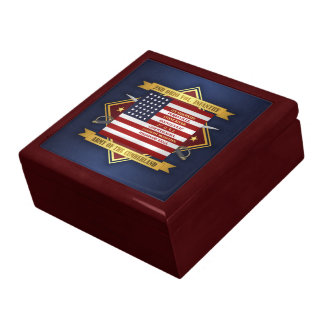 2nd Ohio Volunteer Infantry Large Square Gift Box