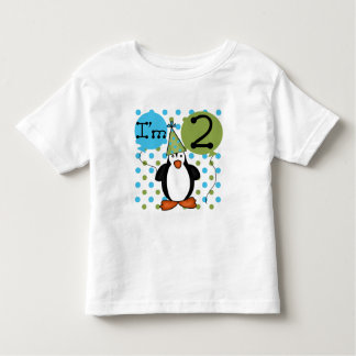 2nd Penguin Birthday Tshirts and Gifts