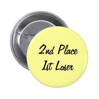 2nd Place 1st Loser pin
