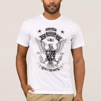 2nd Ranger Battalion Retro Shirt (white)