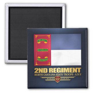2nd Regiment, North Carolina State Troops Magnet