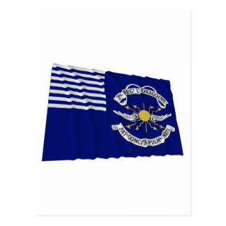 2nd Regt Lt Dragoons Waving Flag Post Cards