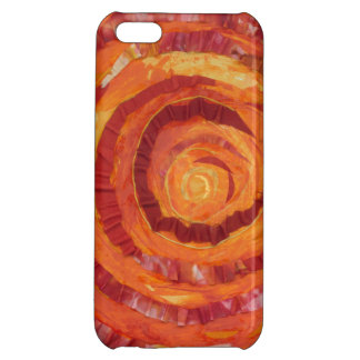 2nd-Sacral Chakra Artwork Fabric- Paint #2 Case For iPhone 5C
