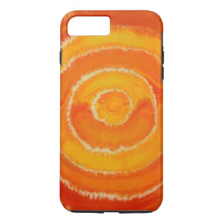 2nd-Sacral Chakra Balancing Orange Artwork #1 iPhone 8 Plus/7 Plus Case