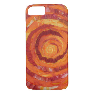 2nd-Sacral Chakra Cleansing Artwork #2 iPhone 7 Case